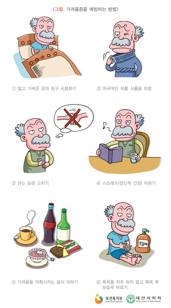 가려움증예방법
